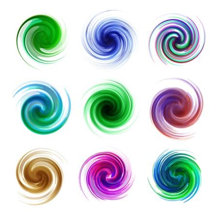 Swirl elements Stock Vector - 17383122