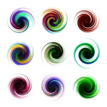 Swirl elements Stock Vector - 16707287