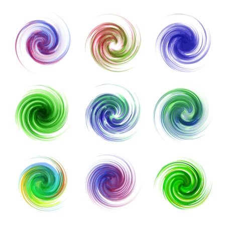 Swirl elements Stock Vector - 16770971