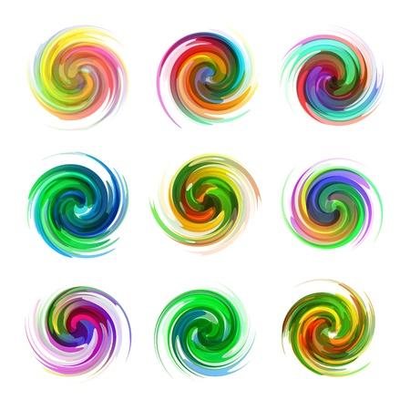 Swirl elements Stock Vector - 16496589