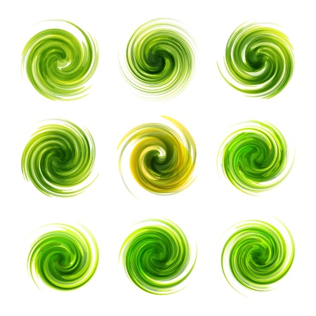 Swirl elements Stock Vector - 17383125