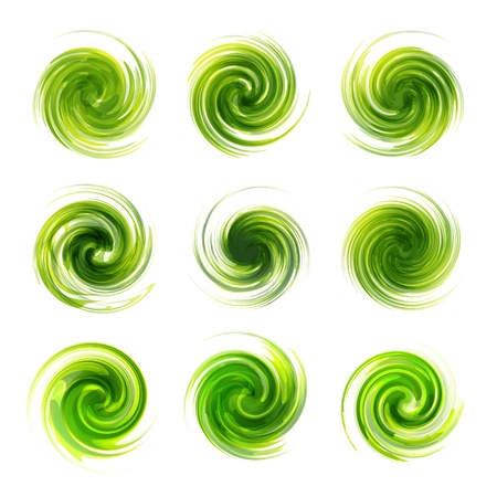 Swirl elements Stock Vector - 16496566