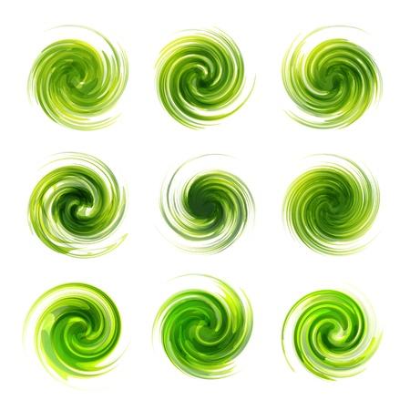 Swirl elements Stock Vector - 16496566
