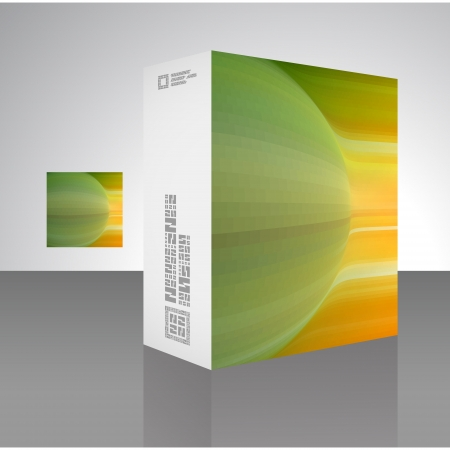 Packaging box Stock Vector - 18352099