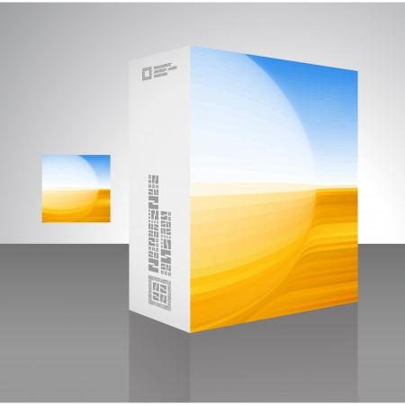 Packaging box Stock Vector - 18395281
