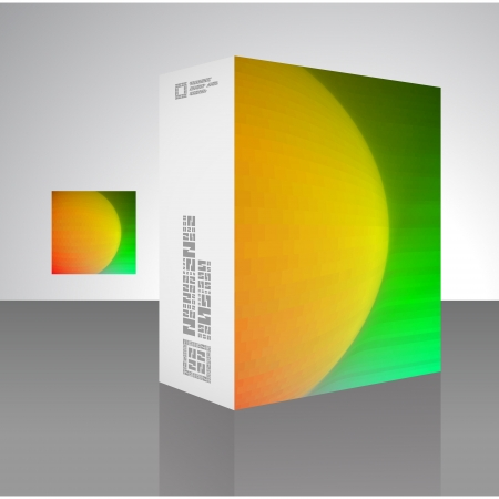 Packaging box Stock Vector - 17503485