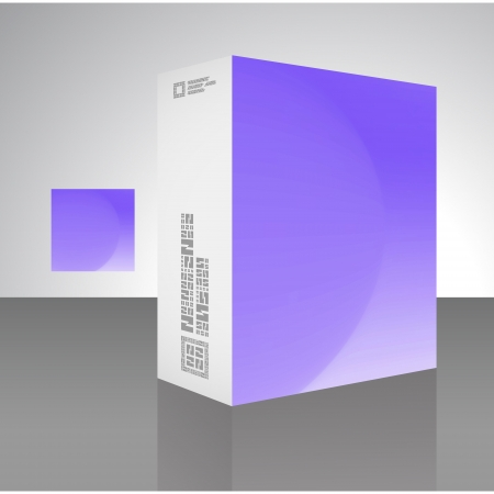 Packaging box Stock Vector - 17503498