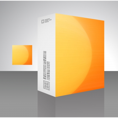 Packaging box Stock Vector - 18352089