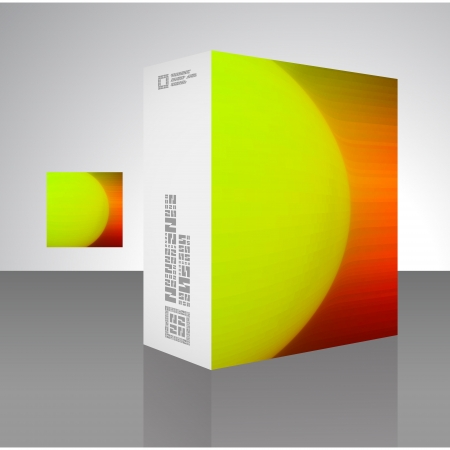 Packaging box Stock Vector - 17390622
