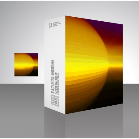 Packaging box Stock Vector - 17504265