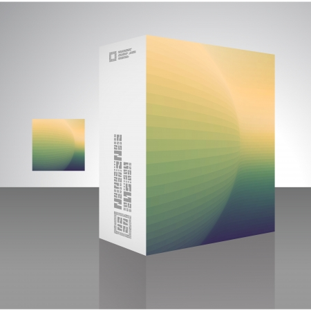 Packaging box Stock Vector - 17390618