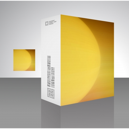 Packaging box Stock Vector - 17390625