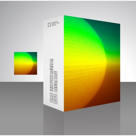 Packaging box Stock Vector - 17390610