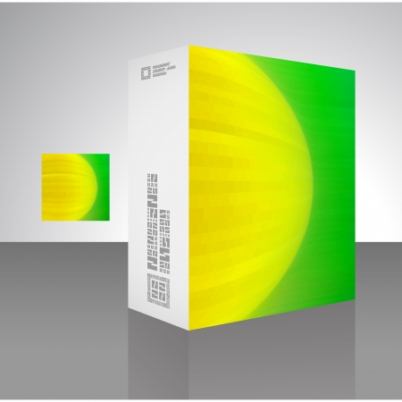 Packaging box Stock Vector - 17383177