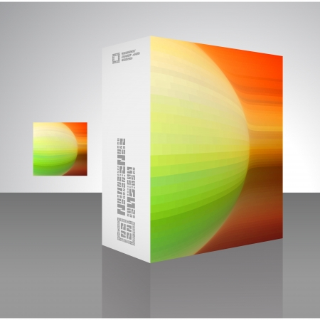 Packaging box  Stock Vector - 17390637