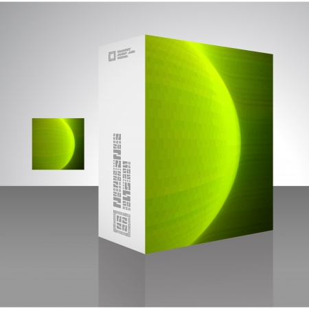 Vector packaging box  Vector