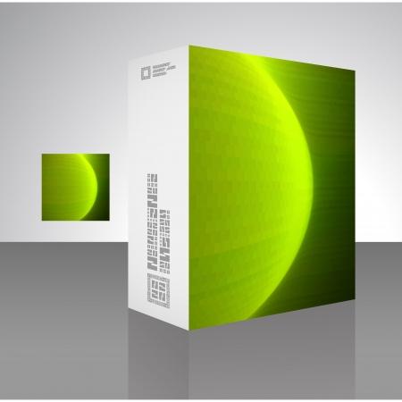 Vector packaging box Stock Vector - 16496934