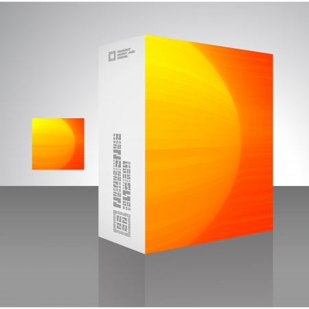 Vector packaging box Stock Vector - 16496933