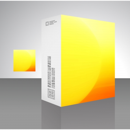 Packaging box  Stock Vector - 17390604