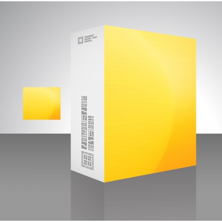 Packaging box Stock Vector - 17383158