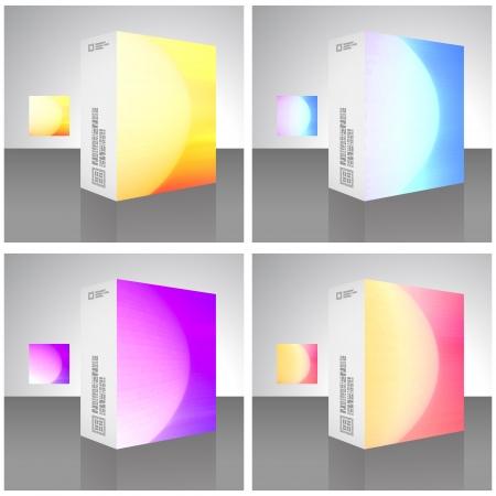 glowing skin: Embalaje caja