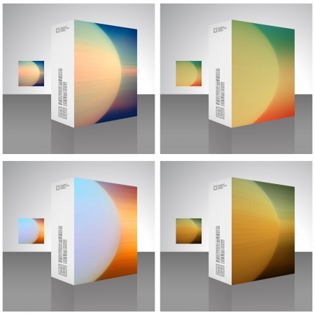 Packaging box Stock Vector - 17383145