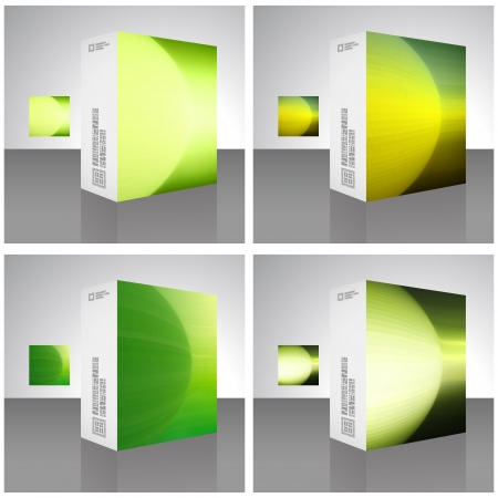 Packaging box Stock Vector - 17383138