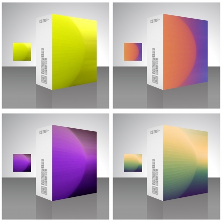 Packaging box Vector