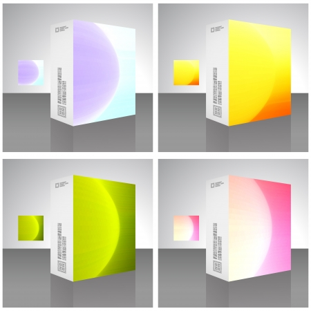 Packaging box Stock Vector - 16770974
