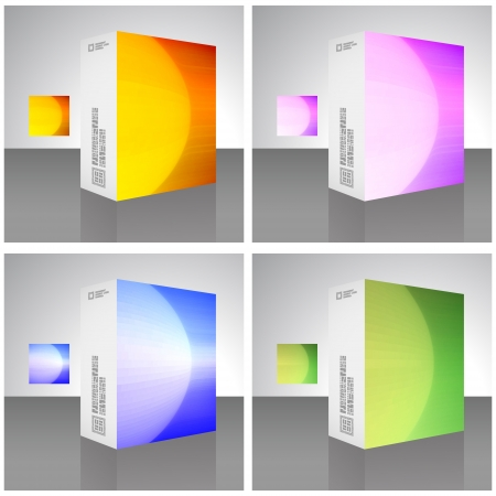 Packaging box Stock Vector - 17383130