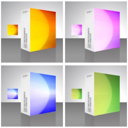 glowing skin: Packaging box