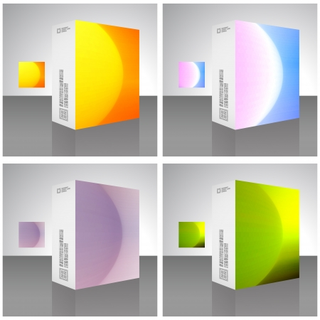 Packaging box Stock Vector - 16770976