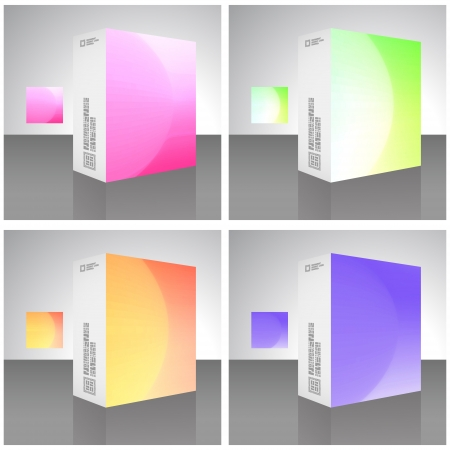 Vector packaging box Stock Vector - 16496937
