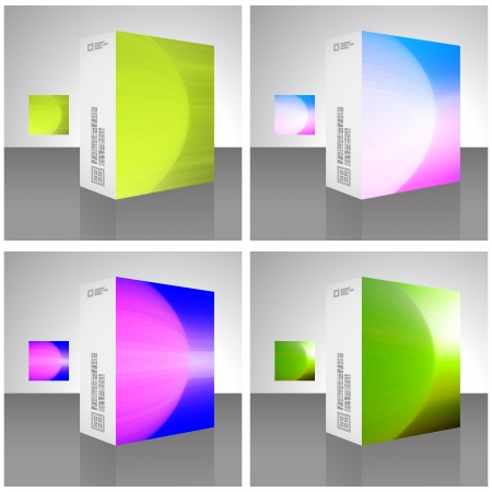 Packaging box  Stock Vector - 17383140