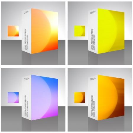 pakiety: Pudełko Ilustracja