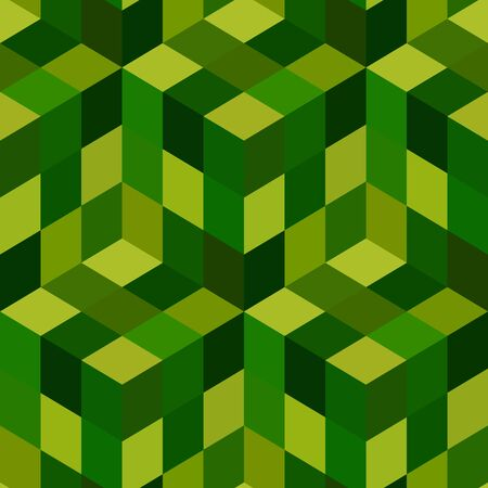 abstractions: Seamless mosaic pattern