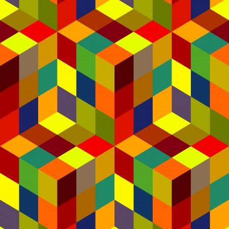 Seamless mosaic pattern Stock Vector - 16706963