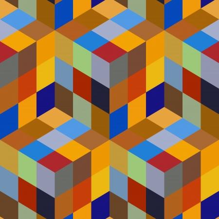 wall cell: Seamless mosaic pattern