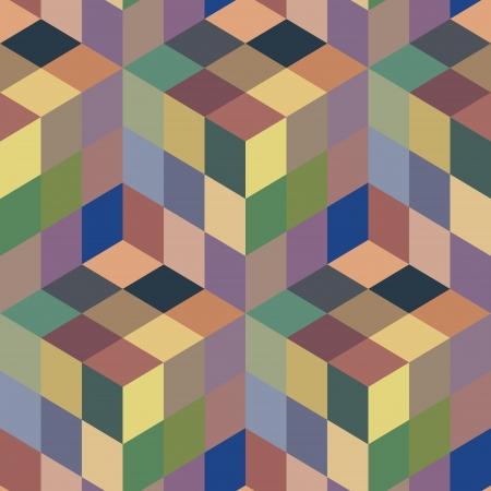 Seamless mosaic pattern Stock Vector - 20004300
