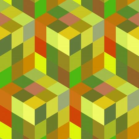 skin structure: Seamless mosaic pattern