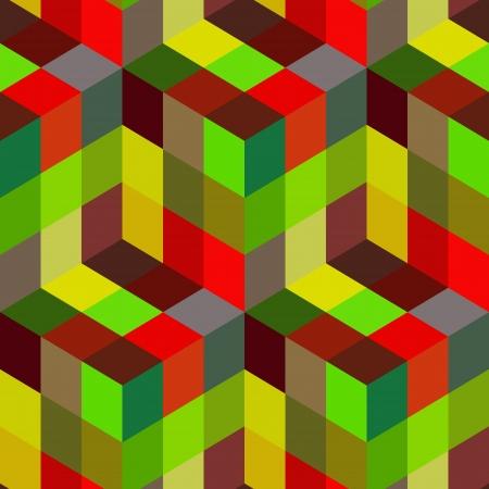 continuity: Seamless mosaic pattern