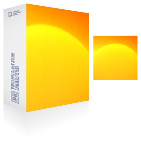 Packaging box Stock Vector - 18748511