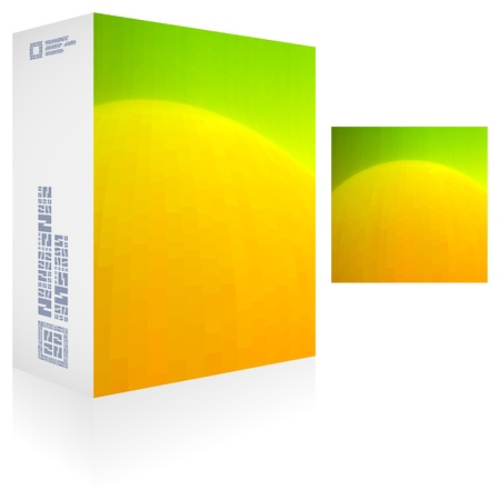 Packaging box Stock Vector - 18748513