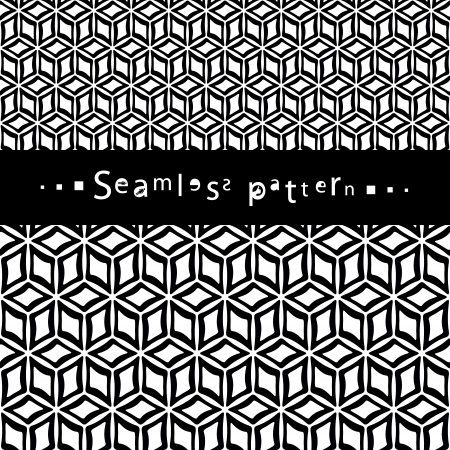 curved line: Seamless pattern
