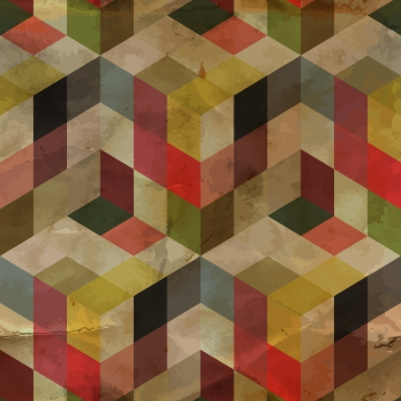 retro backgrounds: Seamless pattern