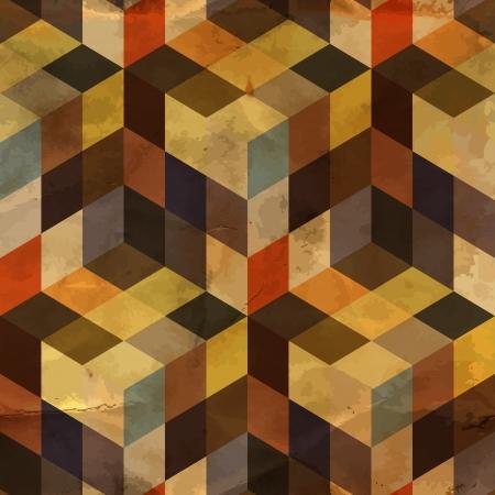 antikes papier: Nahtlose Muster Illustration