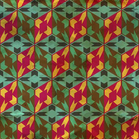fabric art: Seamless pattern