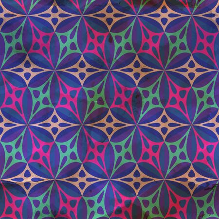 Seamless vintage pattern Stock Vector - 18395910