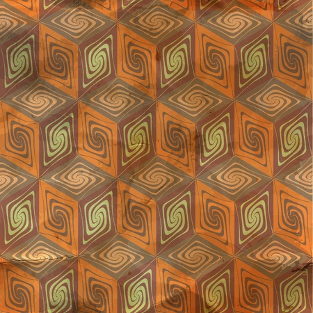 fabric samples: Seamless vintage pattern