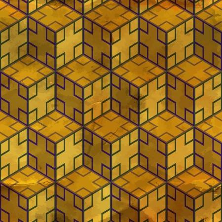 square shape: Seamless pattern